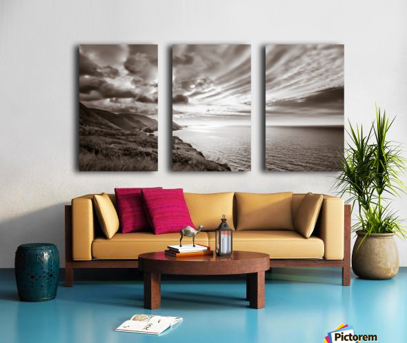 Breakthrough Skies Split Canvas print