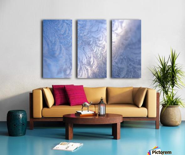 Whorls Split Canvas print