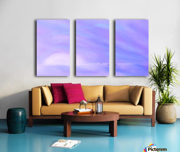 A Maui Twilight Setting Split Canvas print