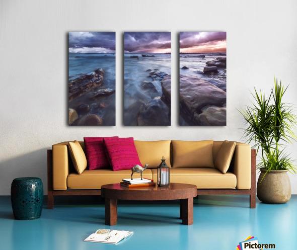 Buffer Split Canvas print