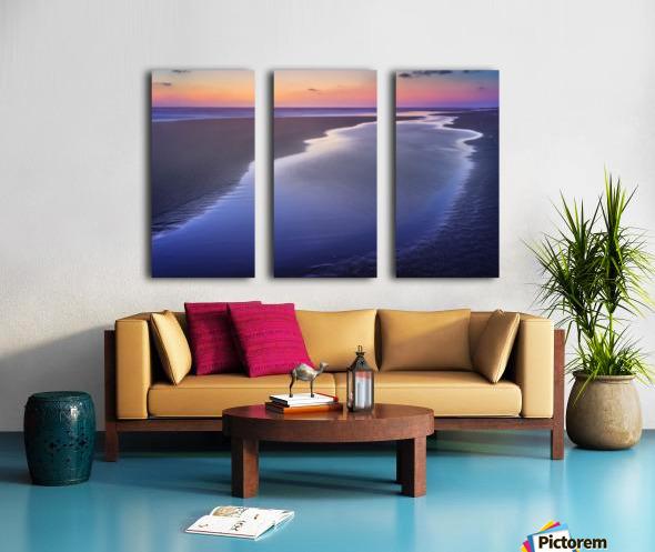 Led Split Canvas print