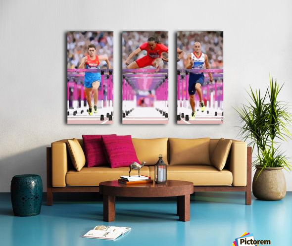 Athletics_58 Split Canvas print