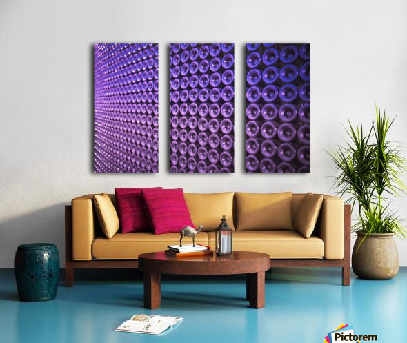 Wine Wall Split Canvas print
