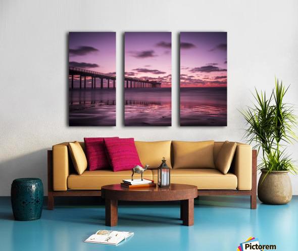 LaJolla Bridge Split Canvas print
