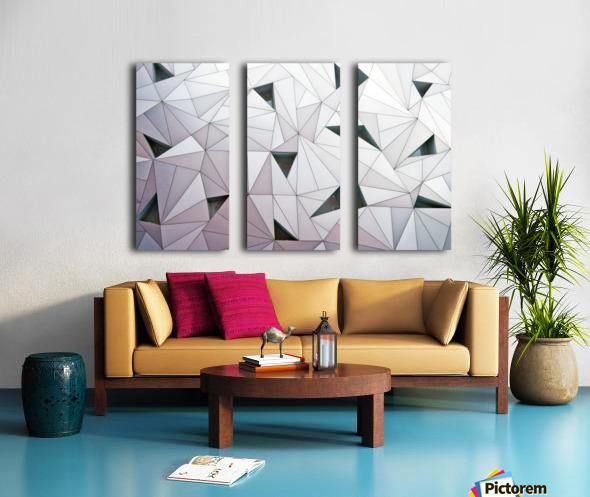 triangulation 1 Split Canvas print