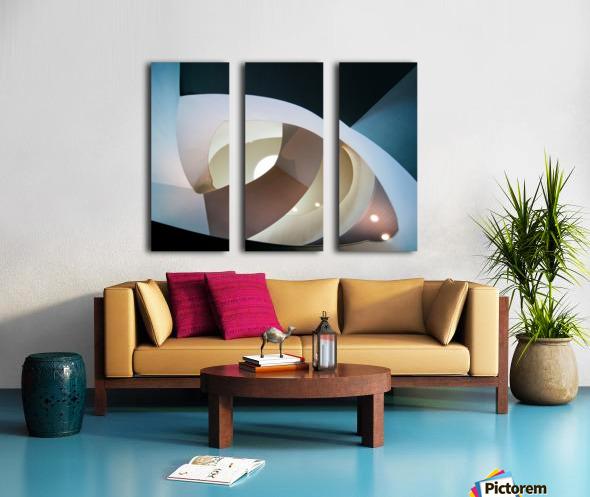 Top light Split Canvas print