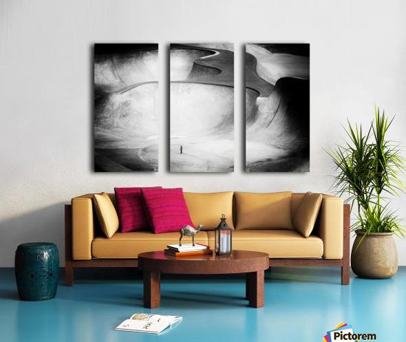 Beyond Reality Split Canvas print