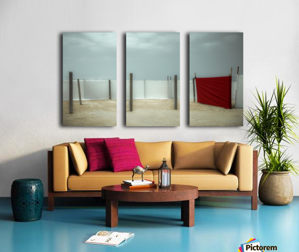 Red canvas Split Canvas print