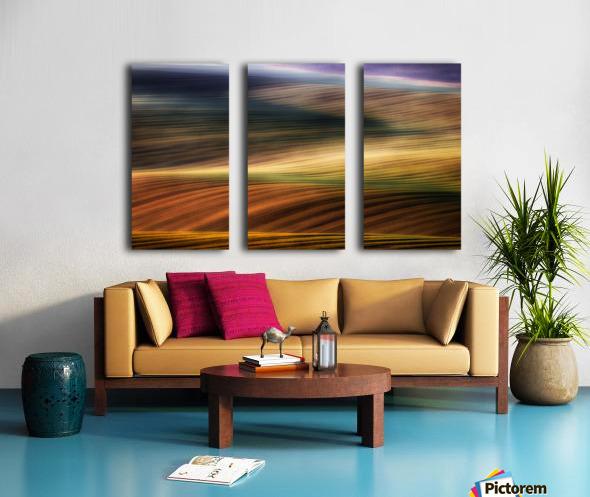 autumn fields Split Canvas print