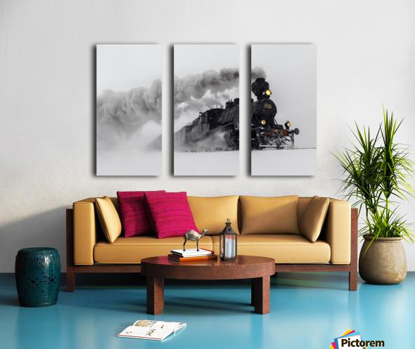 Little-Jumbo Split Canvas print