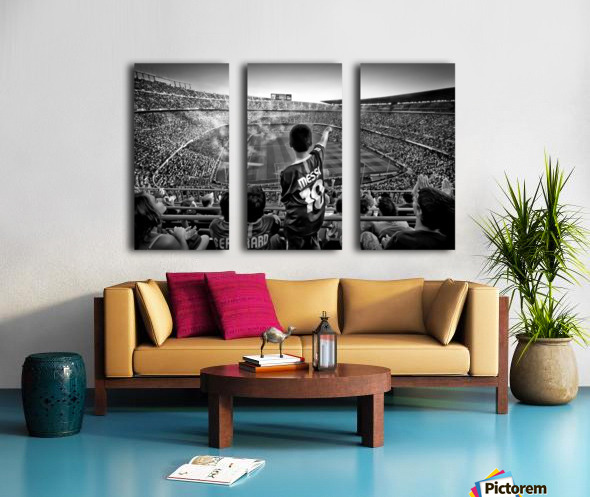 Cathedral of Football Split Canvas print