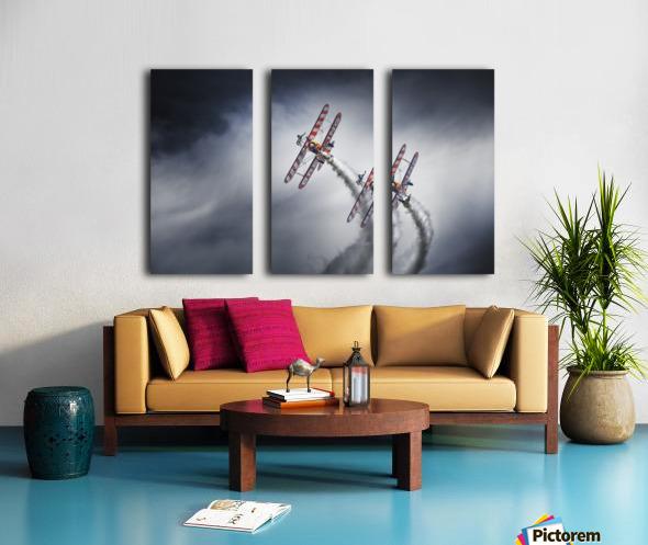 WingWalkers Split Canvas print