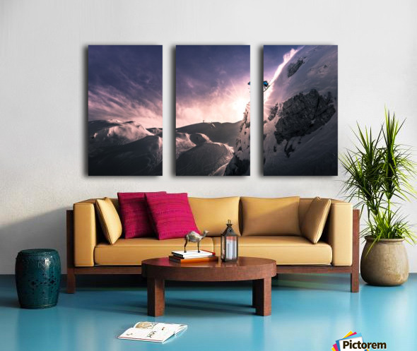 Fly for a While Split Canvas print