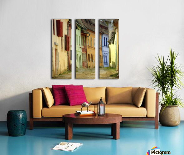colors Split Canvas print