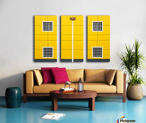 four square Split Canvas print
