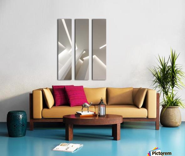 Gorges Split Canvas print
