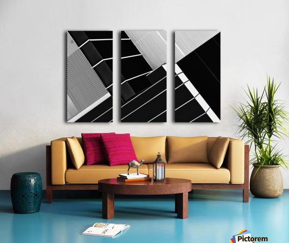 Fragile Symmetry Split Canvas print