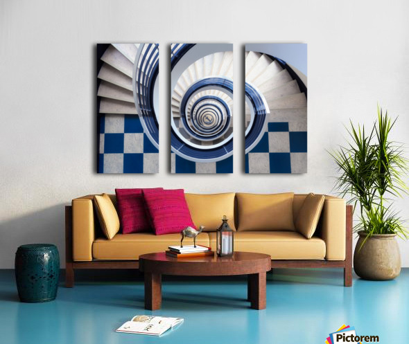 Anchor Split Canvas print
