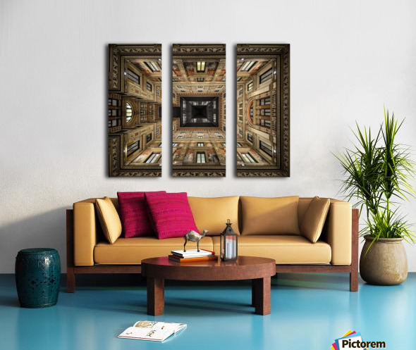 Galleria Sciarra Split Canvas print
