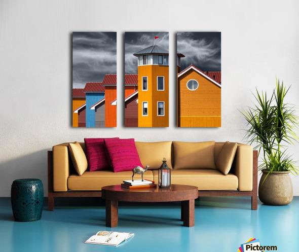 West wind Split Canvas print