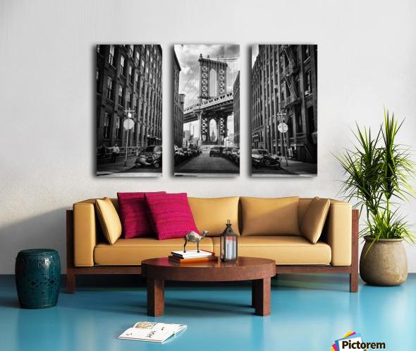 In America Split Canvas print