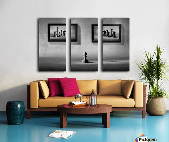 The choice to make Split Canvas print