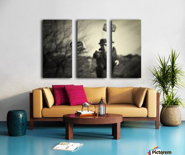 Alea iacta est Split Canvas print