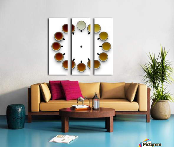 Tea time Split Canvas print