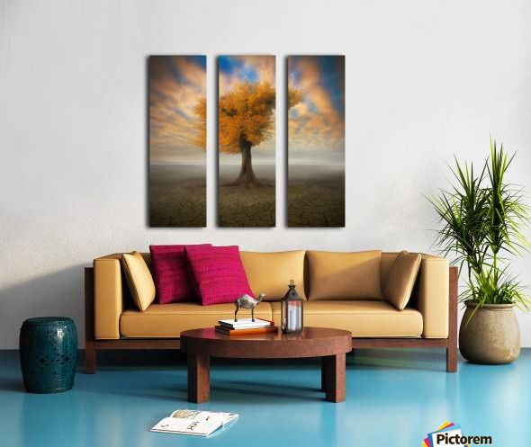 lonesome Split Canvas print
