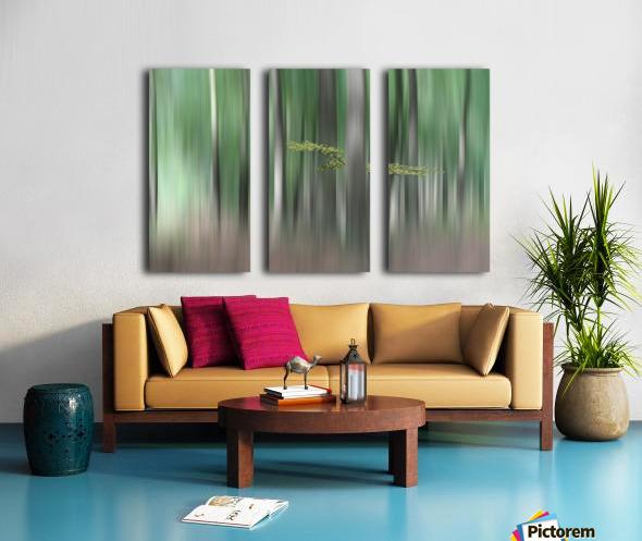 Summermorning Split Canvas print