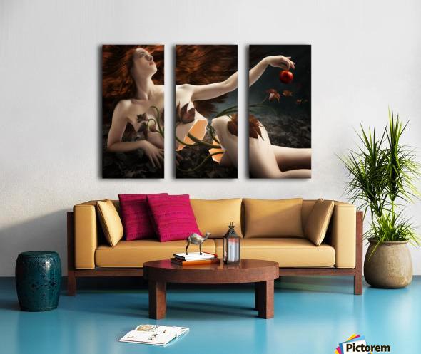 Eve Split Canvas print
