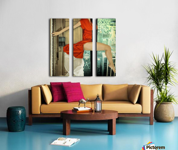 crescendo Split Canvas print