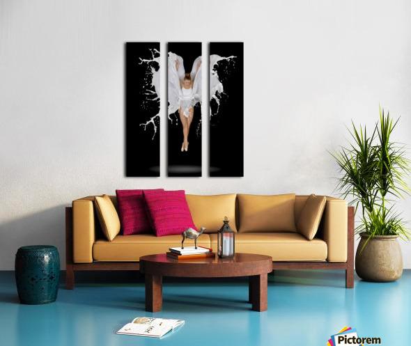Liquidize Split Canvas print