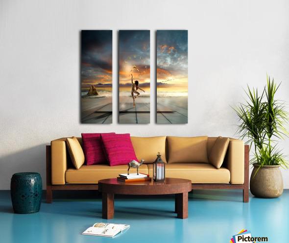 in my dreams ... Split Canvas print
