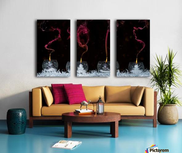 2015 Split Canvas print