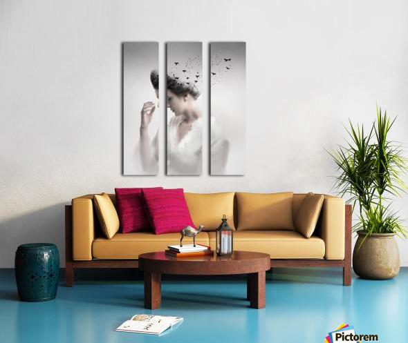 Give them life Split Canvas print
