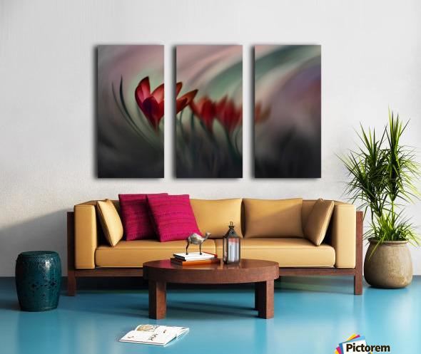 Krokus Split Canvas print