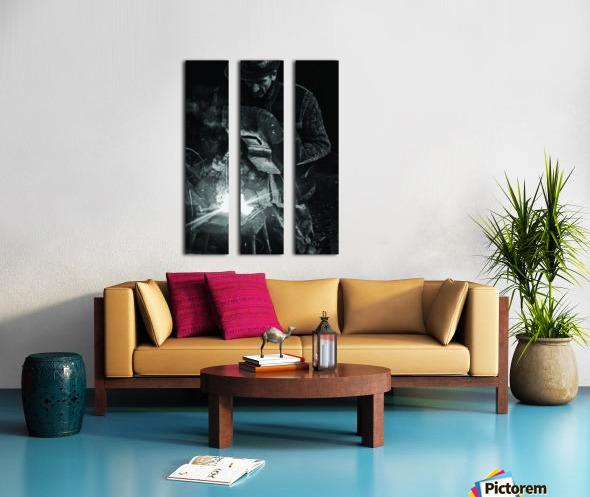 d-nul fierar (Mr. Smith) Split Canvas print