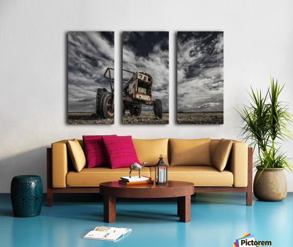 The Scream Split Canvas print