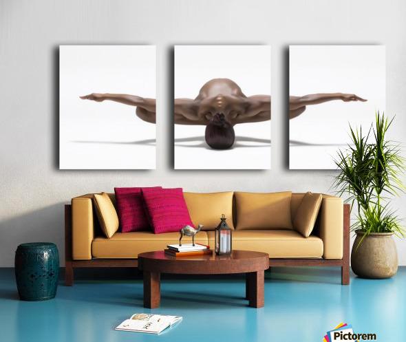 Perfect Balance Split Canvas print