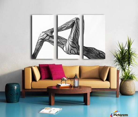 Take ... Split Canvas print