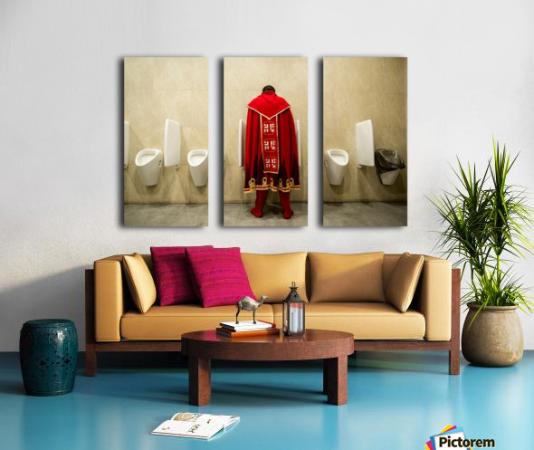 It's Good To Be King! Split Canvas print