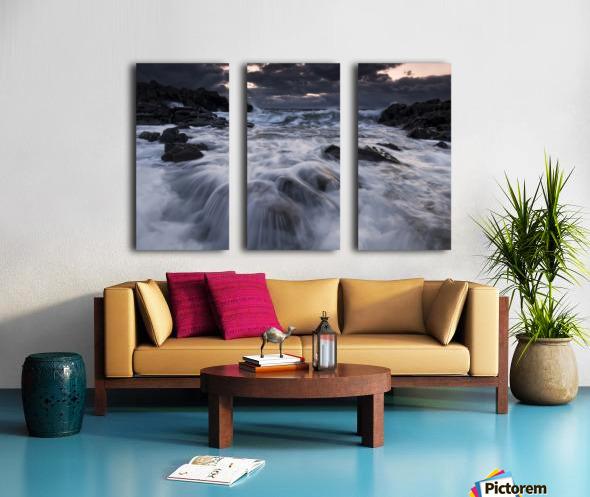 Furious Split Canvas print