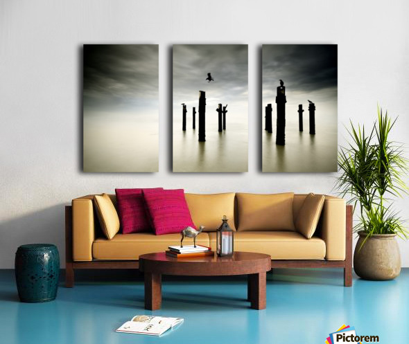 The Sentinels Split Canvas print