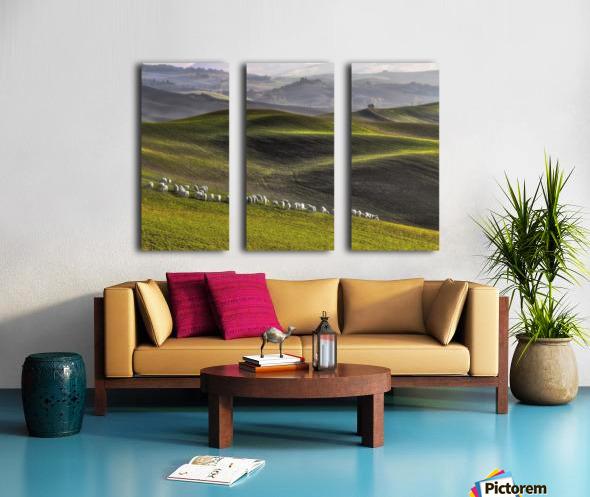 pastoral Split Canvas print
