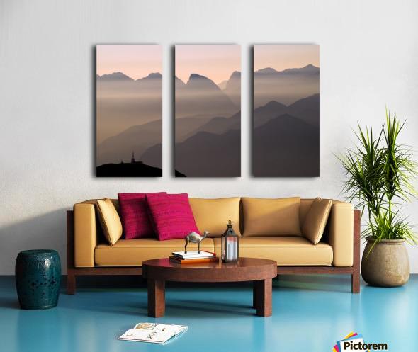 Alpine Sunset Toile Multi-Panneaux