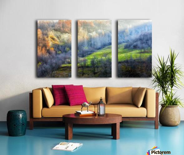 November colors Split Canvas print