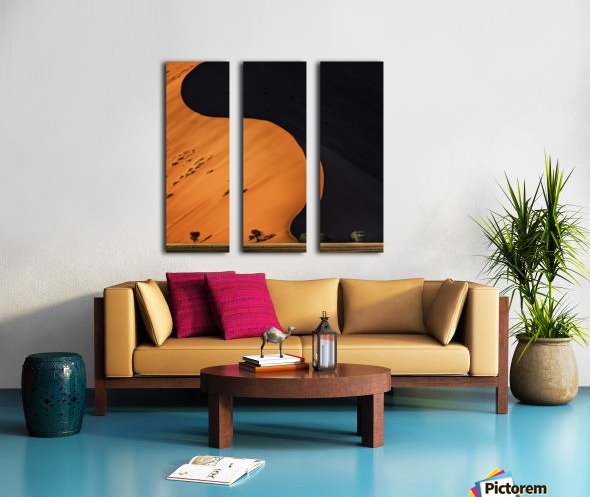 light and shadow Split Canvas print