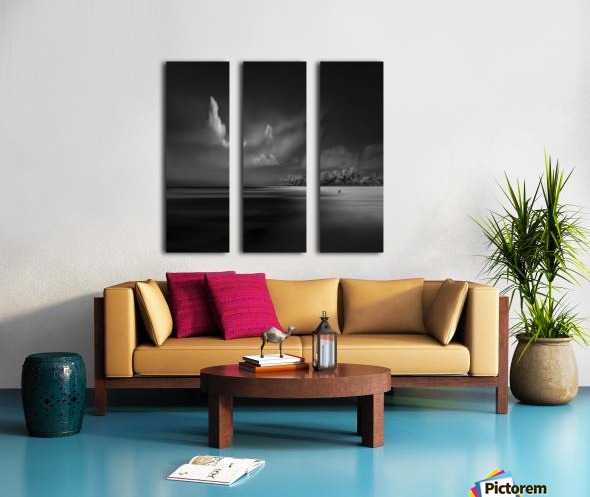 Sea Shore View Split Canvas print