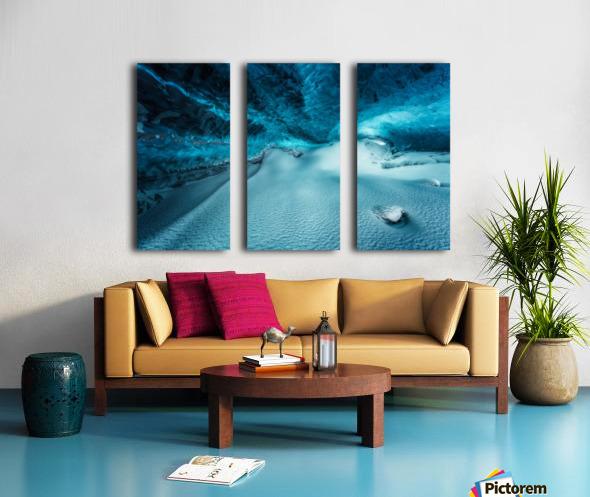 Hidden Frozen World Split Canvas print
